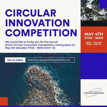 The Launch of the Circular Innovation Competition by the Chamber Circular Economy Forum