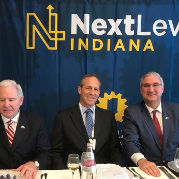 Chamber Hosts Indiana Governor Eric Holcomb